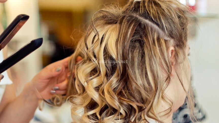 Les préparatifs : La coiffure