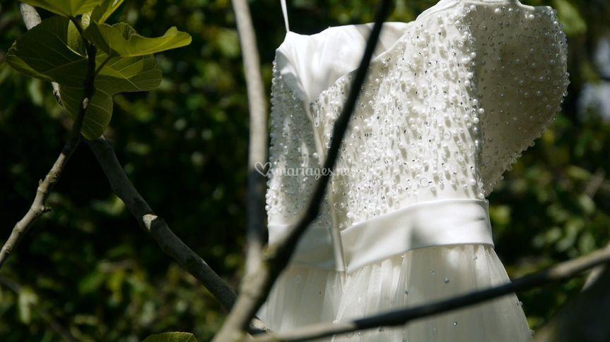 Les préparatifs : La robe