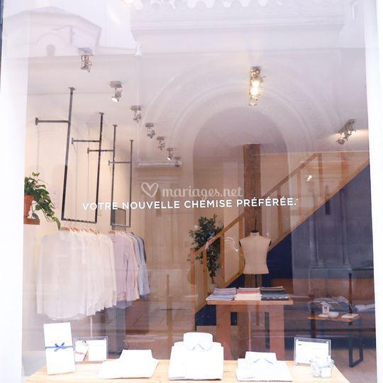 Showroom Paris LE CHEMISEUR®
