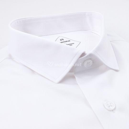 Chemise Twill Blanc
