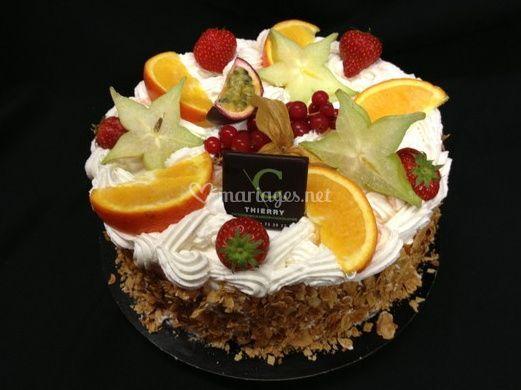 Décoration avec fruits