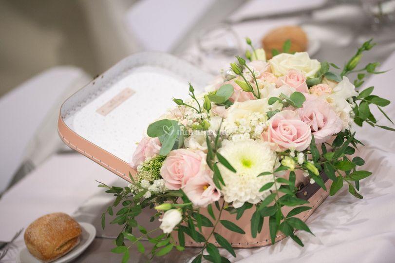 Mariage Blanc, gris, rose