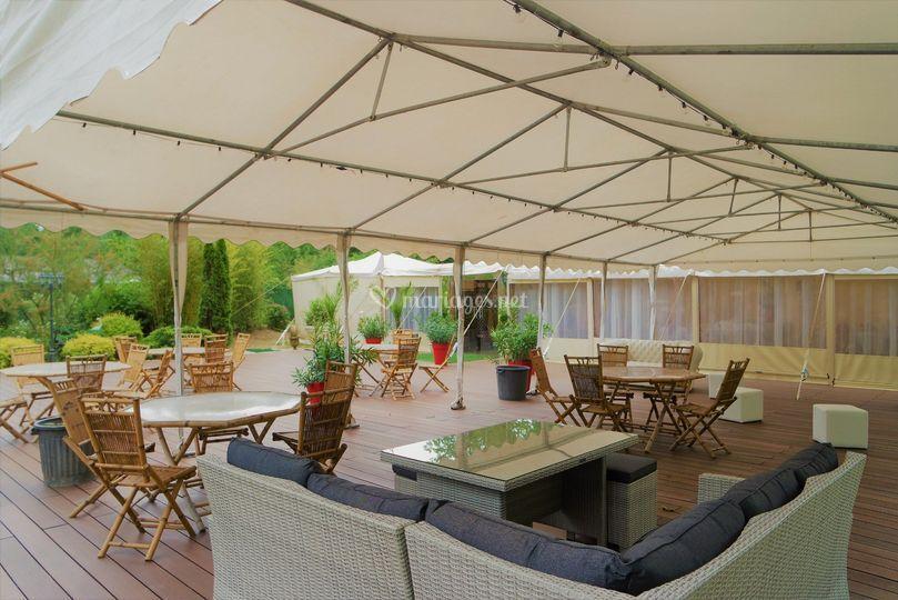 Terrasse espace lounge