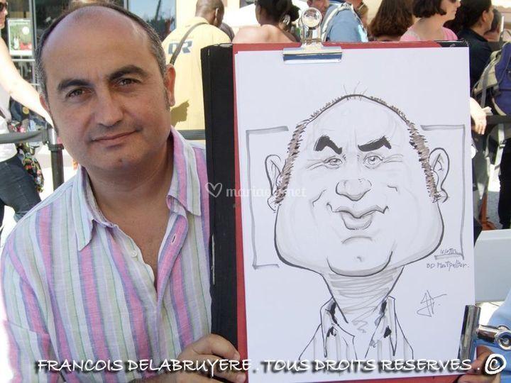 Francois Delabruyère - Caricaturiste