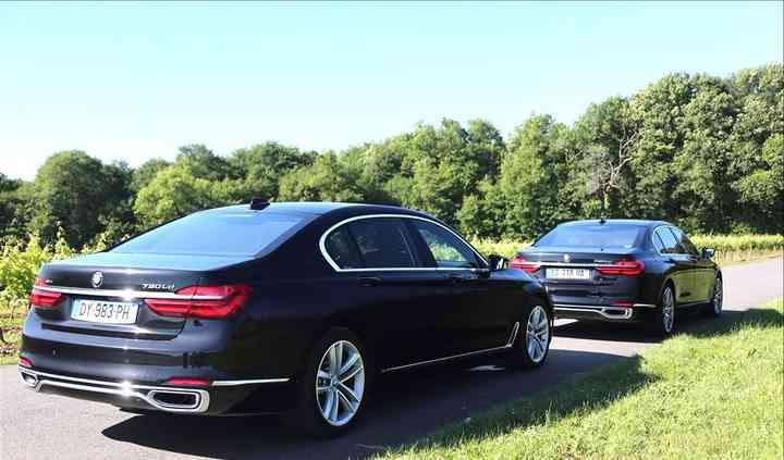 BMW série 7 limousine