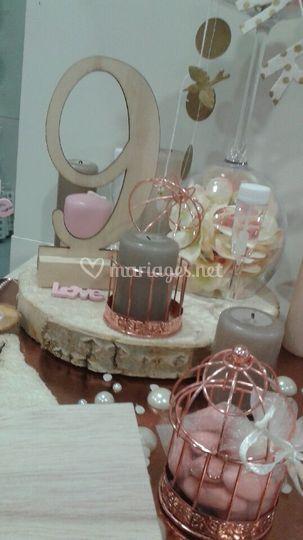 Marque table