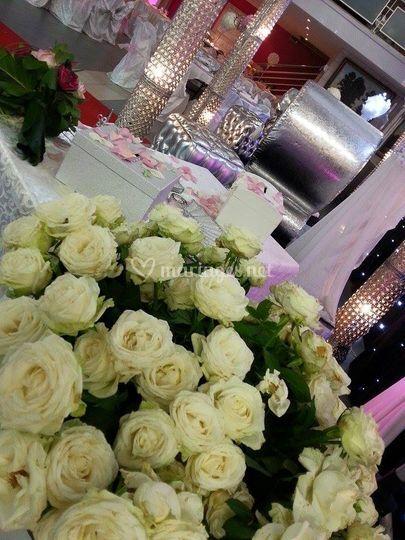 Fleurs Virginie Réception