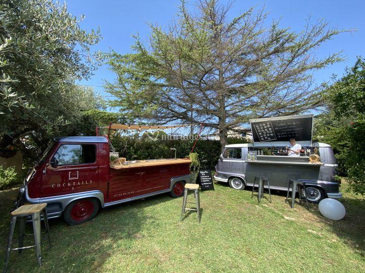 Bar Van + cocktails Truck