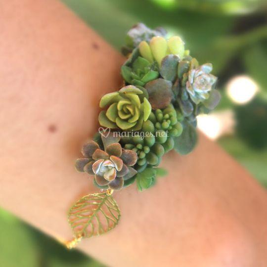 Bracelet végétal