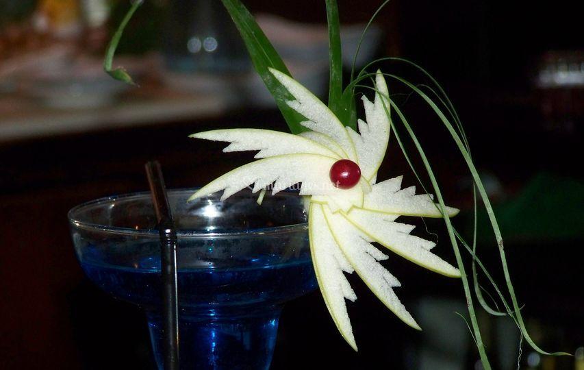 Cocktails avec décorations