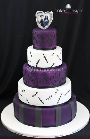 Wedding cake Tim Burton