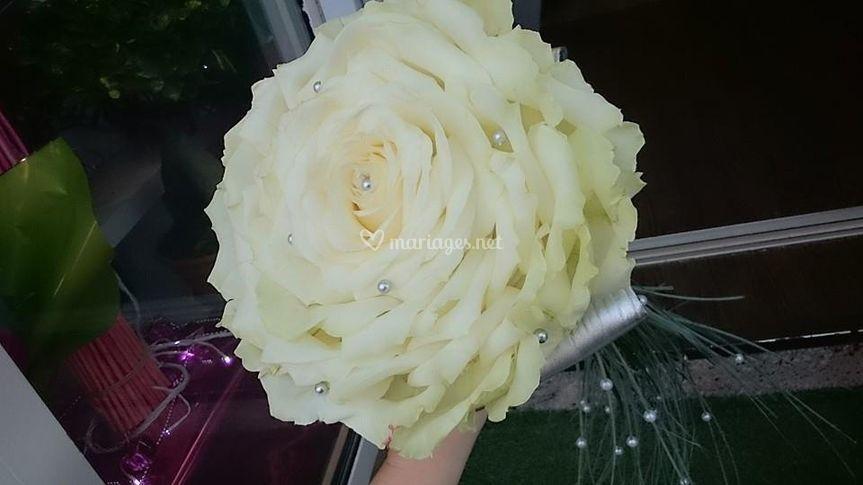 Bouquet rose recomposée