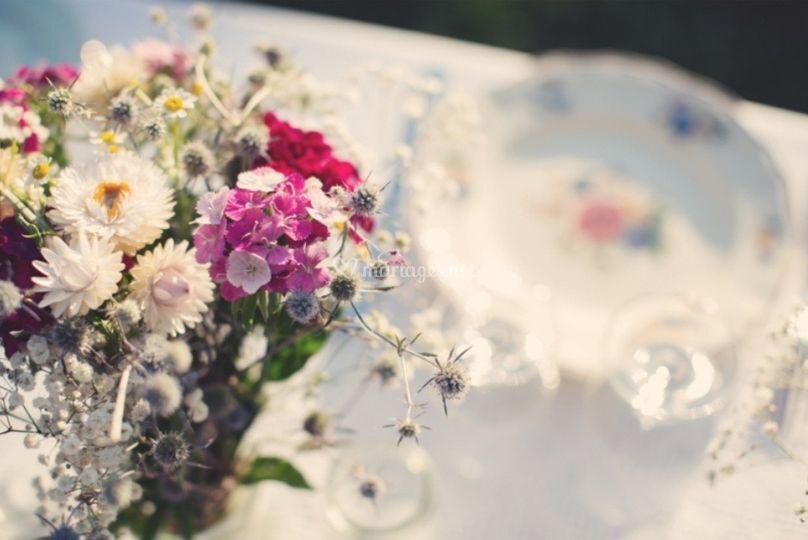 Détail bouquet champetre