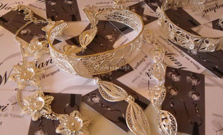 Bijoux en filigrane d'argent