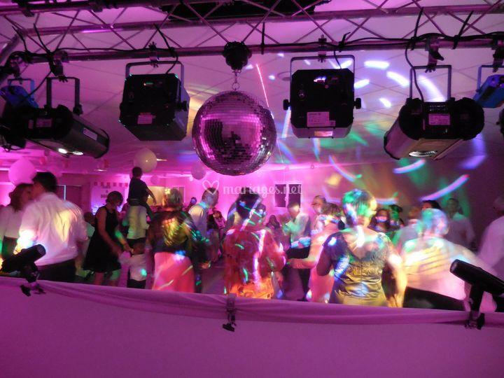Piste de danse vue du DJ !