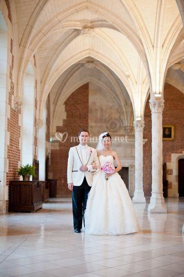 Korean/French wedding