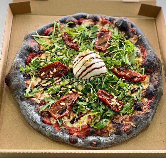 Pizza Volcanique