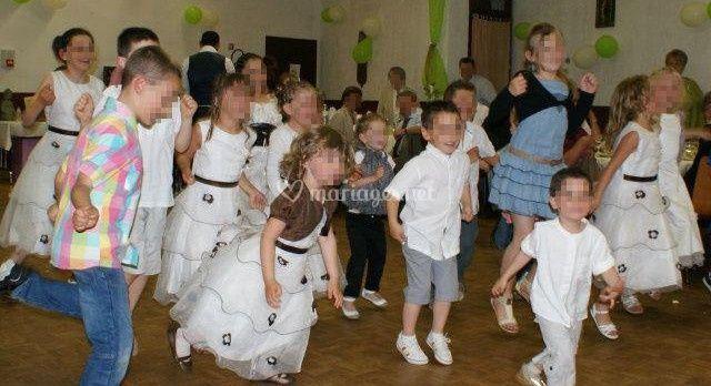 Danse des enfants