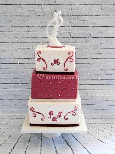 Wedding Cake carré