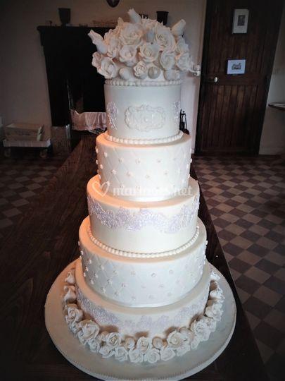 Wedding ivoire et dentelle