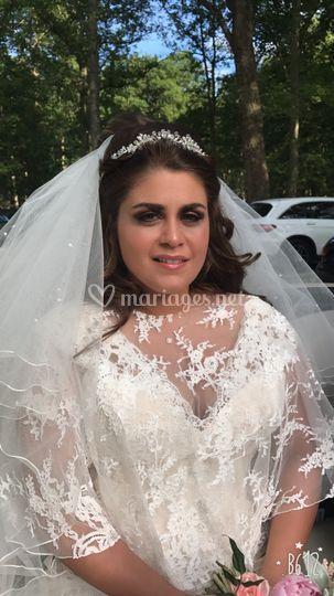 Makeup mariage religieux