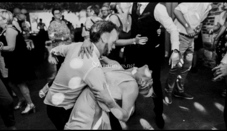 Une danse très bien réalisée