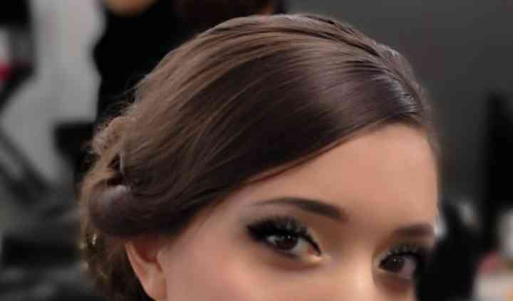 Maquillage beige/ noir