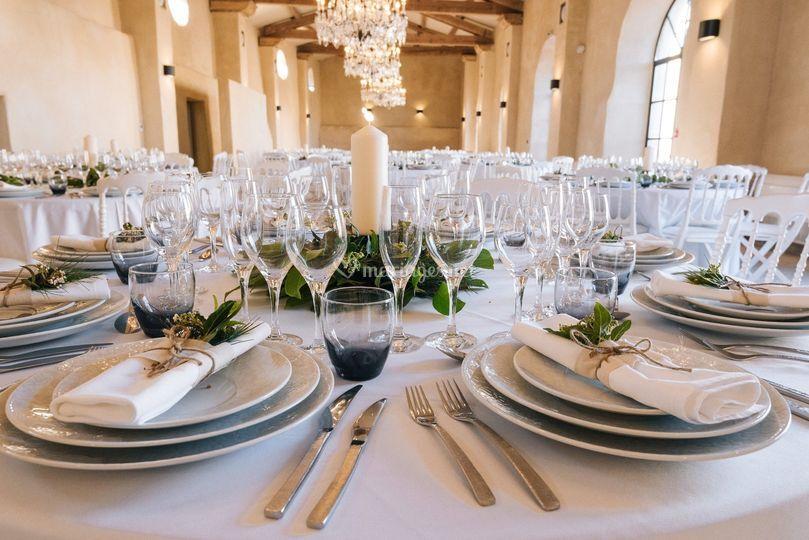 Tables Orangerie