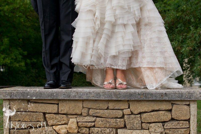Détails de mariés