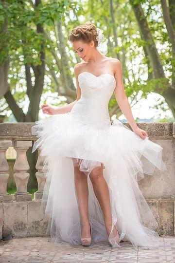 Robe à la folie mariée de Provence