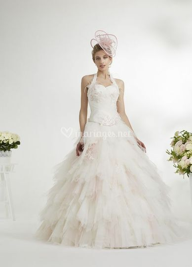 Robes de mariée acidulée