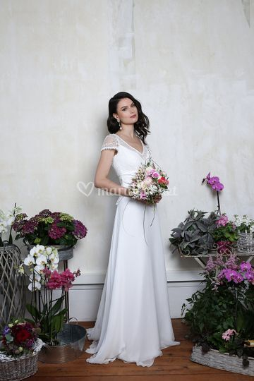 Robe mariée Opéra d'Elsa Gary