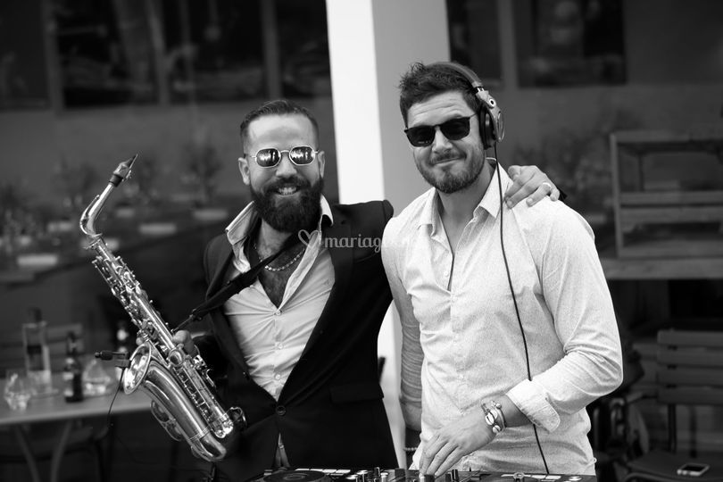 Duo Sax DJ Julien & Tino Sax