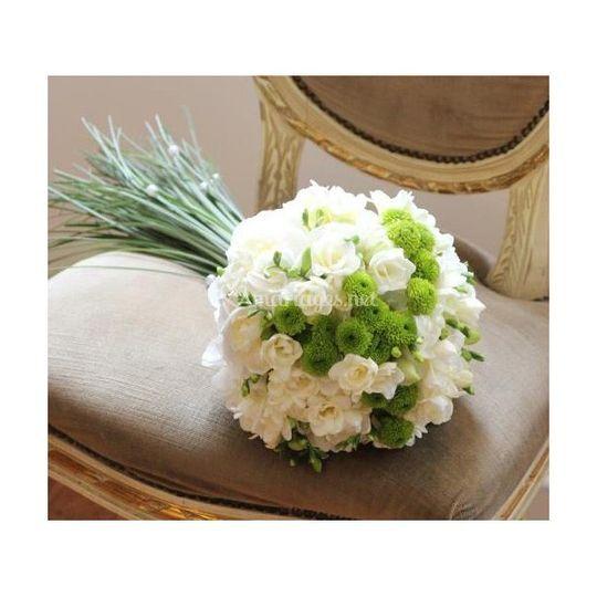 Bouquet chic et romantique