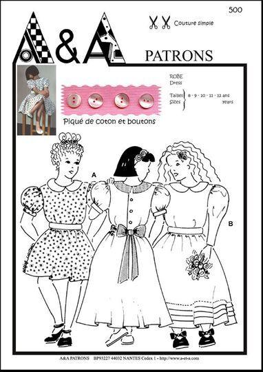 Ligne de patrons couture A&A