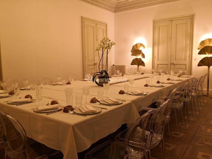 Grand salon diner