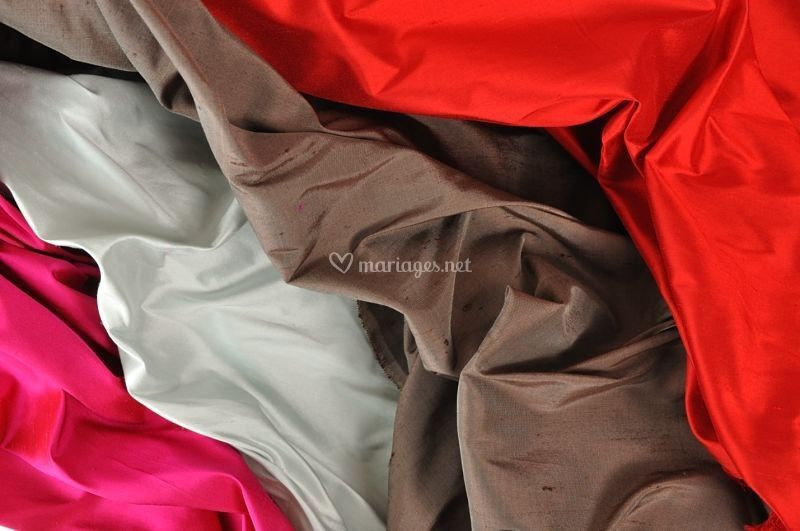 Soie sauvage 32 couleurs