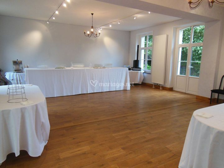 Salle pour vin d'honneur
