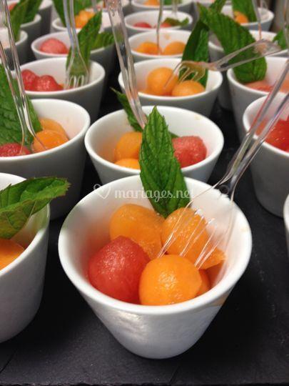 Billes melon/pastèque