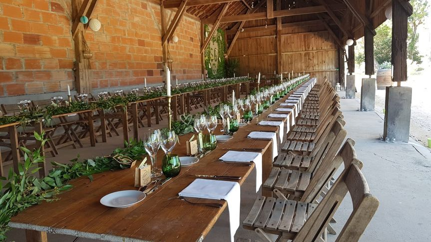 La grange semi ouverte