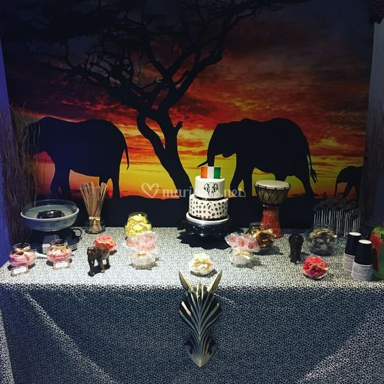Sweet table Afrique
