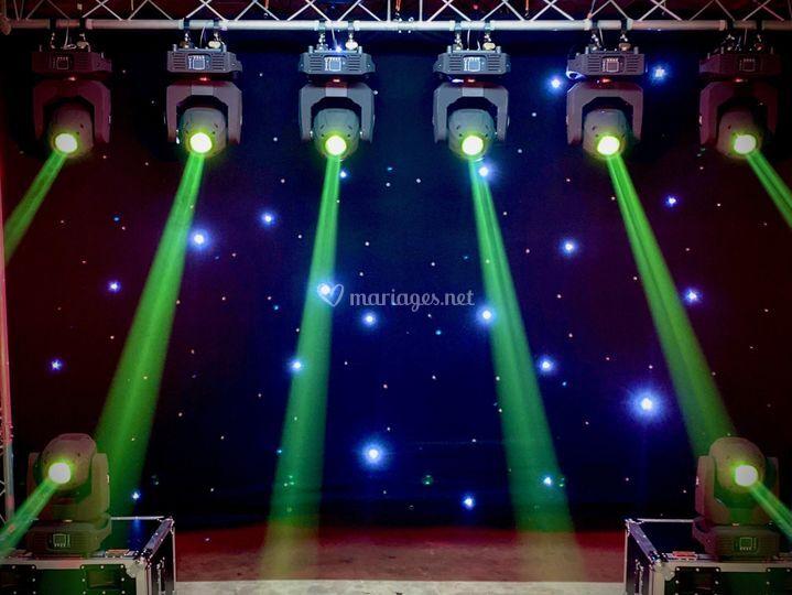 Scène and Lights de Vincent D
