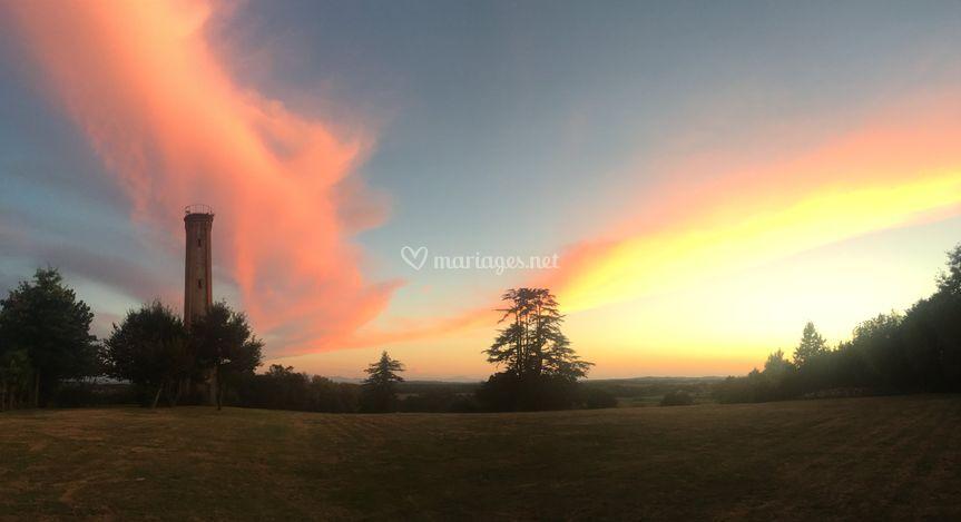 Fabuleux coucher du soleil