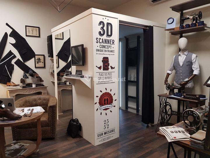 Cabine Scanner 3D
