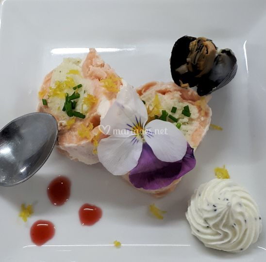 Médaillon de saumon