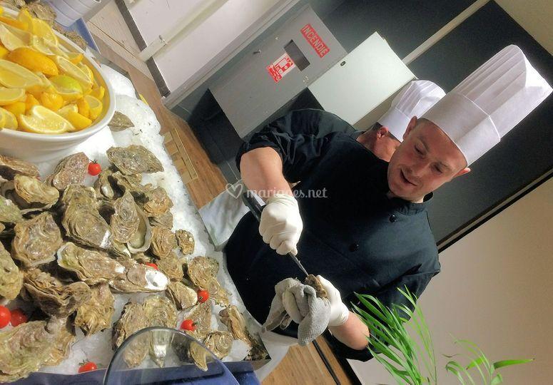Des huîtres et des crêpes!