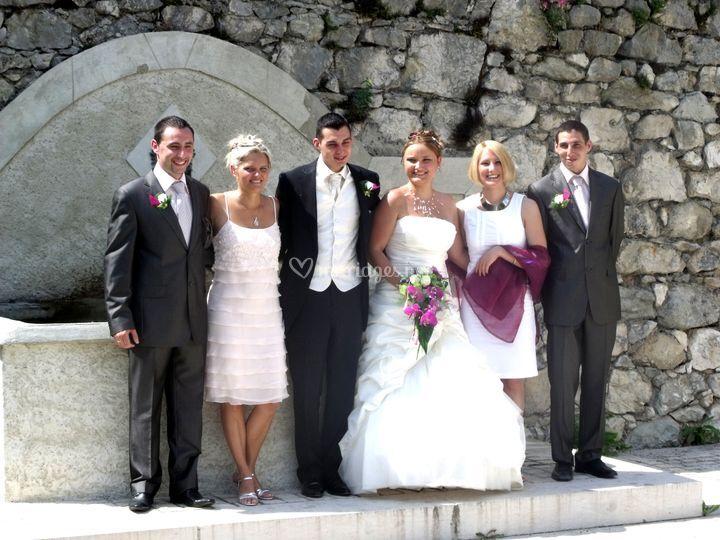Mariage en Isère.