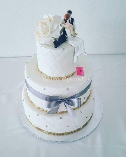 Wedding cake Laureline