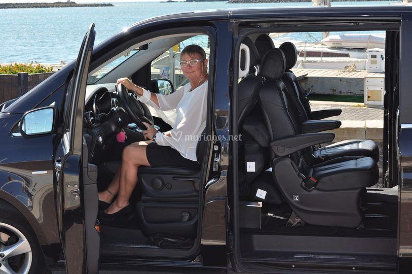 Valérie votre chauffeur