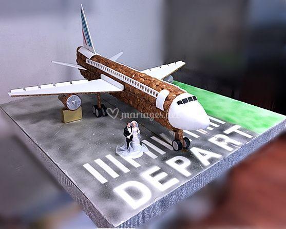 Pièce montée Boeing